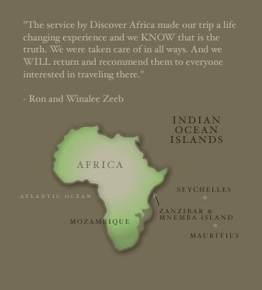 Discover Africa :: Indian Ocean Islands
